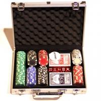 Покерний набір 200 фішок DM200NA