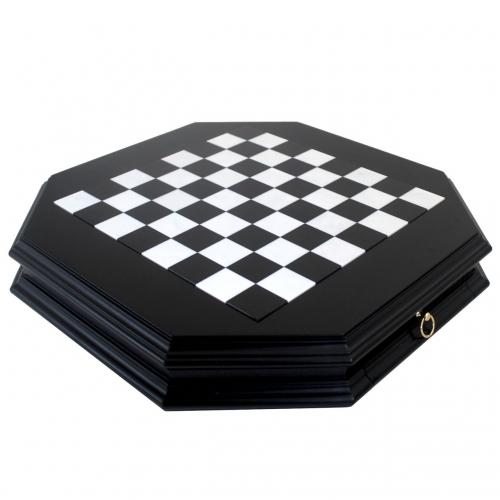 Шахматы подарочные G1026BN 405N Italfama