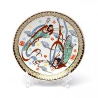 Декоративная тарелка с подставкой A