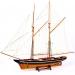 Модель старинной парусной яхты La Bella Pole 100 см 45307-100B