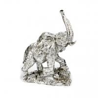 Статуэтка слона с поднятым хоботом PL0151D-9 Argenti Classic
