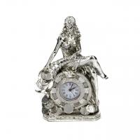 Стильные настольные часы статуэтка Фортуна богиня удачи PL0207G-7.5