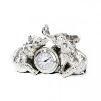 Красивые настольные часы статуэтки слоники PL0407X-5