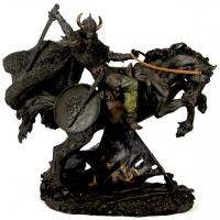 Статуэтка викинга на лошади