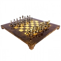 Шахматы эксклюзивные классические в ВИП футляре S32BRO