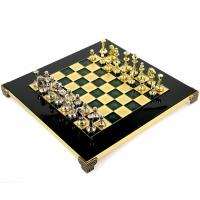 Шахматы VIP классические в подарочной коробке S32GRE Manopoulos