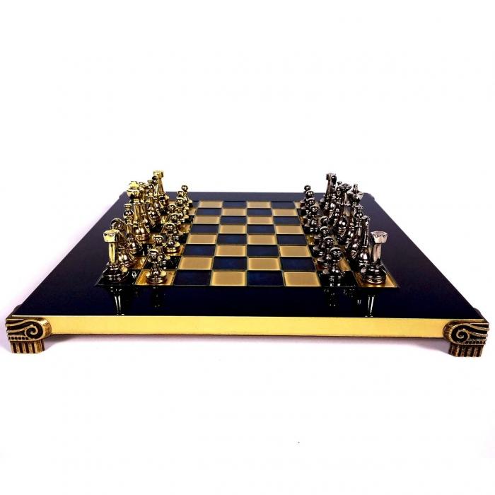 Шахматы элитные классические в подарочной коробке S32BLU Manopoulos