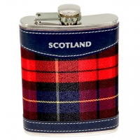 Фляга для виски и скотча Scotland 8 унций A144-8B