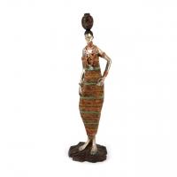Африканская статуэтка женщины 7177 D