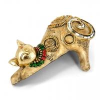Статуэтка кошки на полку ZH74317-A