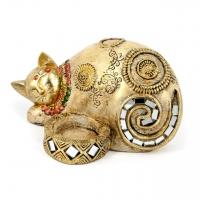 Статуэтка подсвечник кошка ZH74327-A