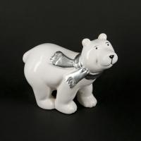 Статуэтка белый медведь HY09A037-3