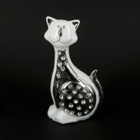 Статуэтка кот фарфоровый HY21096-2