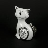 Статуетка кіт зі стеклярусом HY21132A Claude Brize