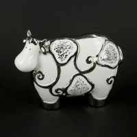 Статуэтка корова 18 см HY21179-1