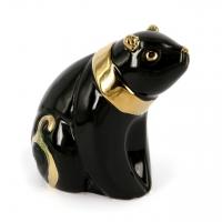 Статуэтка панда черная азиатский медведь HY21217-2