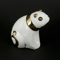 Статуэтка панда белая азиатский медведь HY21217-2J