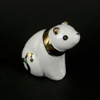 Статуэтка панда азиатский медведь белая HY21217-3J