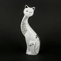 Статуэтка кошка белая 21 см HY21310