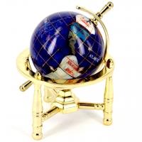 Глобус 80 мм на 3 ніжках (синій) CA008-1