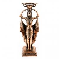 Статуетка єгиптянка свічник для широкої свічки T316 Classic Art