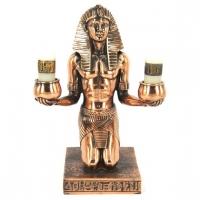 Статуэтка фараон из Египта подсвечник T336