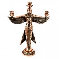 Статуэтка богиня Маат египетский подсвечник T575