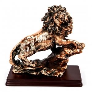 Статуэтка льва на подставке E094
