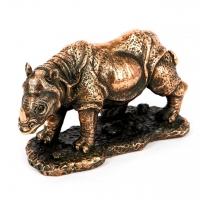 Статуэтка носорога из полистоуна E166 Classic Art