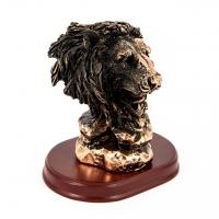 Статуэтка бюст льва фигурка на подставке E193