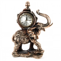Статуэтка слон каминные часы E198