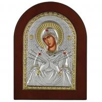 Икона Семистрельная Божией Матери MA/E1114-AX Prince Silvero