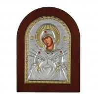 Икона Божией Матери Семистрельная MA/E1114-BX Prince Silvero