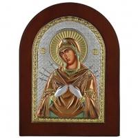 Икона Божьей матери Семистрельная MA/E1114-AX-C Prince Silvero