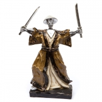 Статуетка самурай воїн з катаної 3