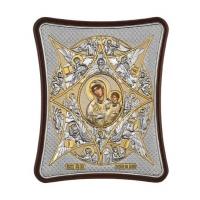 Икона Богородица Неопалимая Купина MA/E1481/3X Prince Silvero