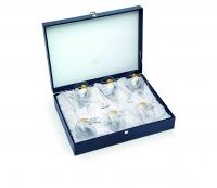 Набор бокалов для вина 6 шт gold 6218400 Chinelli