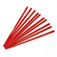 Набор палочек для суши красные классические (5 по 2 шт.) 07