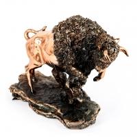 Статуэтка зубр E372 фигурка беларусского быка