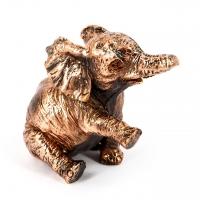 Фигурка слоника статуэтка из полистоуна E551