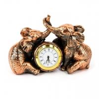 Сувенирные настольные часы слоники E591 Classic Art