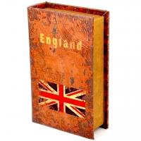 Шкатулка книга большая England KSH-PU1662B Decos