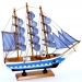 Модель корабля деревянная 34 см 3326