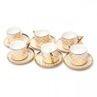 Кофейный набор HX0132 на 6 персон 12 предметов B