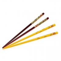 Набор для суши палочки желтые и коричневые 2 пары 36