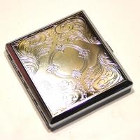 Портсигар из металла CY015-4-2 D. Smoker