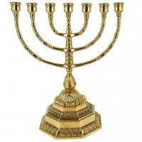 Еврейский подсвечник на 7 свечей менора большой 82.306 Alberti Livio