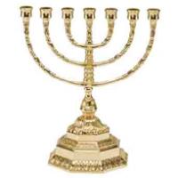 Еврейский подсвечник на 7 свечей менора большой 82.306