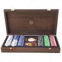 Покерный набор на 300 фишек в элитном футляре PXL10.300 Manopoulos