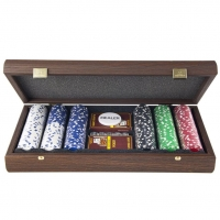 Покерный набор на 300 фишек в эксклюзивном футляре PDE20.300